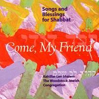 Rabbi Jonatah CD - WJC Come My Friends   rabbijonathankligler.com